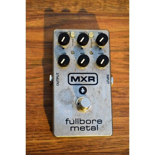 Dunlop MXR M118 Fullbore Metal Distortion Guitar Effects Pedal Used