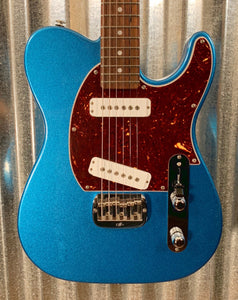 G&L Guitars USA Fullerton Deluxe ASAT Special Lake Placid Blue Guitar & Case 2019 #5106