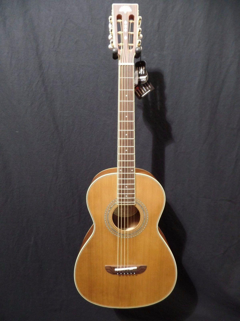 Washburn WP11SENS Acoustic Electric Parlor Guitar Fishman  #2518