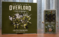 Electro-Harmonix Nano Operation Overlord Overdrive Guitar Effect Pedal