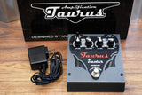 Taurus Amplification Dexter SL Octaver Bass & Guitar Effect Pedal & AC Adapter