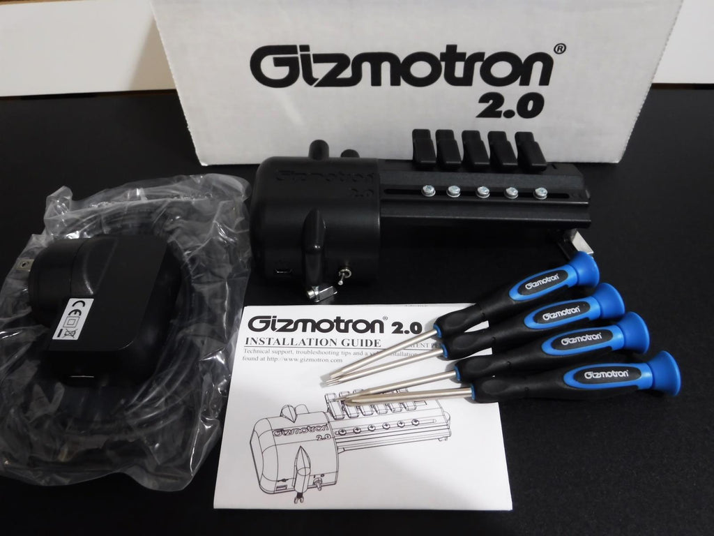 Gizmotron Bass 2.0 4 or 5 String Bass Mechanical Bowing & Sustaining Device