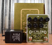 Electro-Harmonix EHX Operation Overlord Allied Overdrive Guitar Effect Pedal Demo