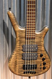 Warwick Custom Shop Masterbuilt Corvette $$ 5 String AAA Flame Top Bass & Case
