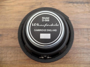 "Wharfedale Pro D-568 10"" 100 Watt 8 Ohm Stamp Frame Replacement Speaker SVP10"