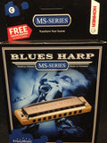 Hohner 532BX-C Blues Harp MS Series Major Diatonic Harmonica, Key of C