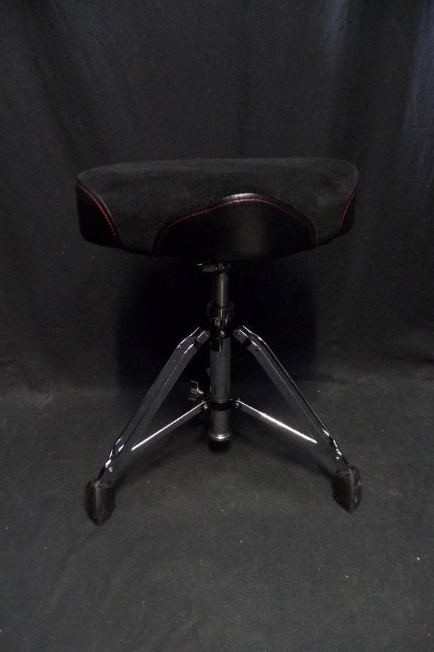 Gibraltar 9608HM Hydraulic Moto Motorcycle Seat Drum Throne Used*