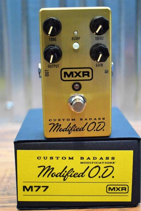 Dunlop MXR M77 Custom Badass Modified O.D. Overdrive Guitar Effect Pedal