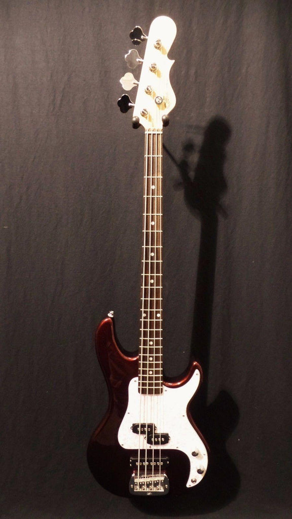 G&L Tribute SB2 Electric Bass in Bordeaux Red Metallic & Gig Bag #8274