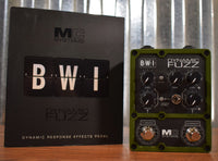MC Systems Apollo BWI Dynamic Fuzz Guitar Effect Pedal Used