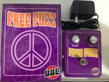 BBE Sound Free Fuzz 70's Fuzz Face Guitar & Bass Pedal & Power Supply