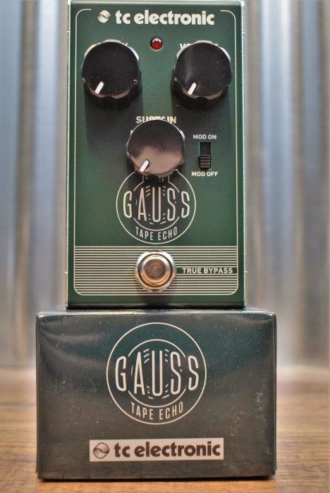TC Electronic Gauss Tape Echo Delay Guitar Effect Pedal