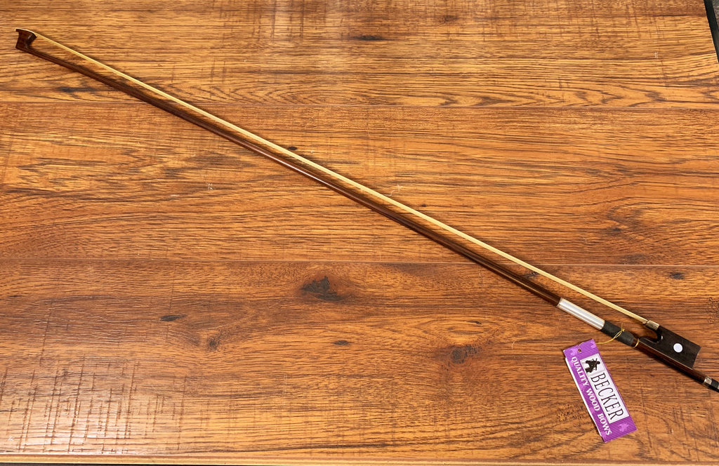 Becker 9242-44 Violin Bow Brazilwood Brown 4/4 Size
