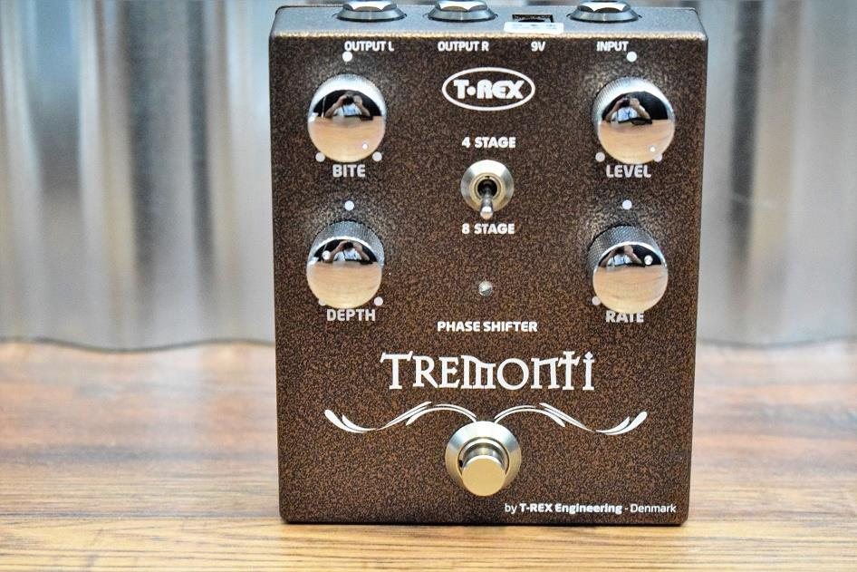 T-Rex Engineering Mark Tremonti Phase Shifter Guitar Effect Pedal Demo #961
