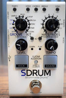 Digitech SDRUM Strummable Drum Machine Auto Drummer Guitar Bass Effect Pedal B Stock