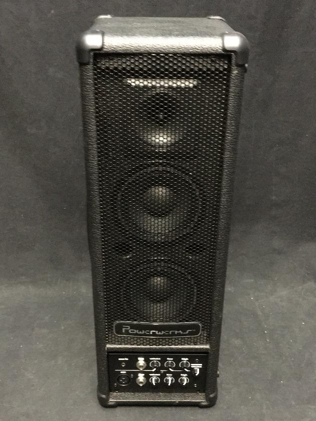 Powerwerks PW40BAT 2 Channel 40 Watt Battery Powered Portable PA System #4006 *