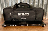 Outlaw Effects Nomad S128 Small Rechargeable Battery Powered Pedalboard & Bag