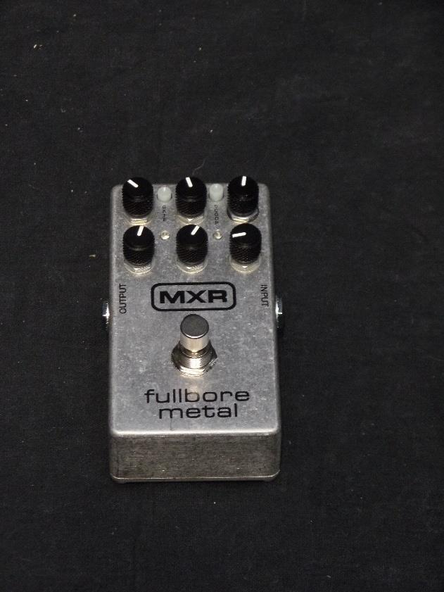 Dunlop MXR M118 Fullbore Metal Effects Pedal For Electric Guitar*