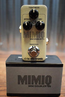 TC Electronic Mimiq Mini Doubler Guitar Effect Pedal