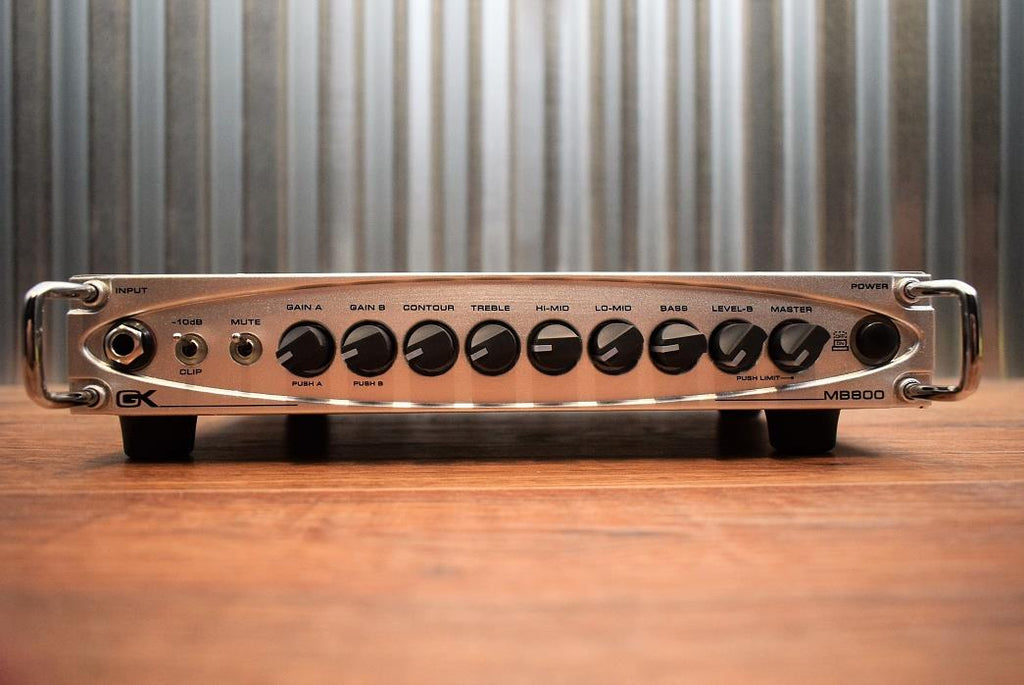Gallien Krueger GK MB 800 Watt Ultralight Micro Bass Amp Head MB800