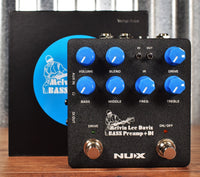 NUX NBP-5 Melvin Lee Davis Bass Preamp DI Cabinet Emulation & Tone Editing Effect Pedal