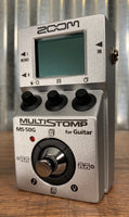 Zoom MS-50G MulitStomp Programmable Guitar Effect Pedal