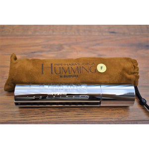 Suzuki PH-20-F Pipe Humming Professional 10 Hole Diatonic Harmonica Key of F