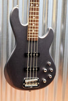 G&L Guitars MJ-4 Modern Jazz Bass Graphite Metallic & Case #9235