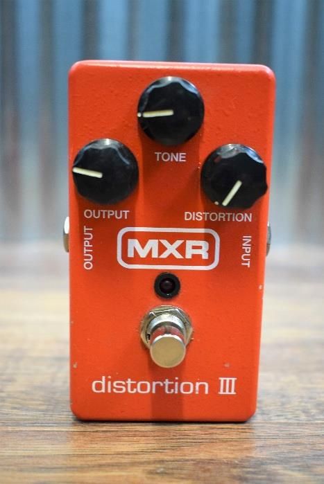 Dunlop MXR M115 Distortion III Guitar Effect Pedal Used