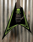 ESP LTD ALEXI LAIHO Guitar & Case LEXI600GREENY #0216 Demo