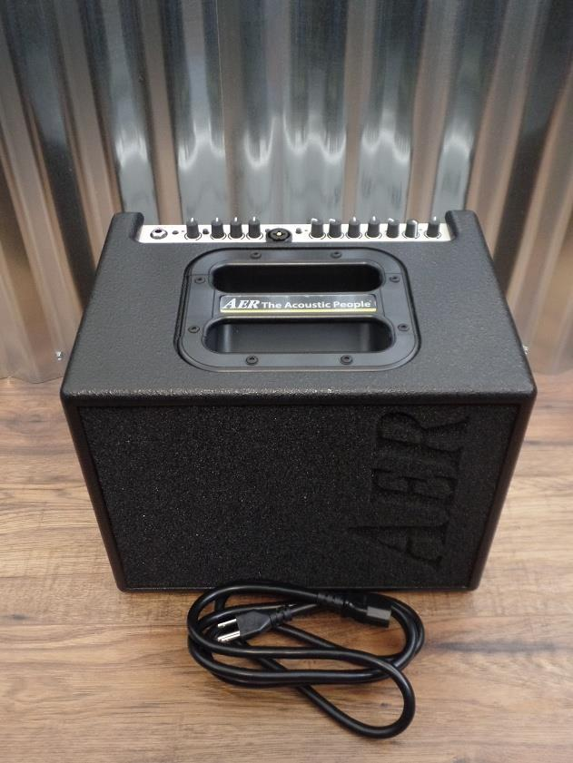 AER Compact 60 60W 1x8 Acoustic Guitar Amplifier with Case 60/3 #1373