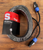 Stagg SSP15SS25 15M 50 ft 14GA Speakon-Speakon Cable