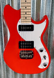 G&L USA Fullerton Custom Fallout Rally Red Guitar & Case 2018 #3217