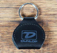 Dunlop 5210SI Picker's Pouch Keychain Square Logo Guitar Pick Holder