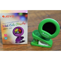 JOYO JMT-01 Clip-on Tuner and Metronome with Color Display GREEN