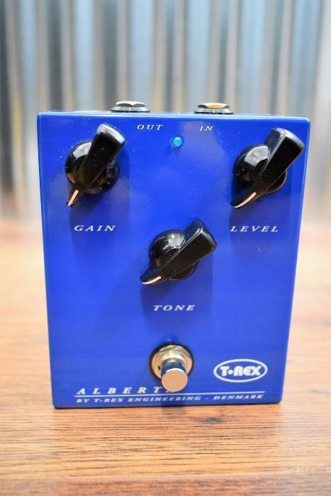 T-Rex Engineering Alberta Overdrive Tube Screamer Guitar Effect Pedal #5480