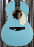 PRS Paul Reed Smith SE P20E LTD ED Acoustic Electric Parlor Powder Blue Guitar & Bag #1707