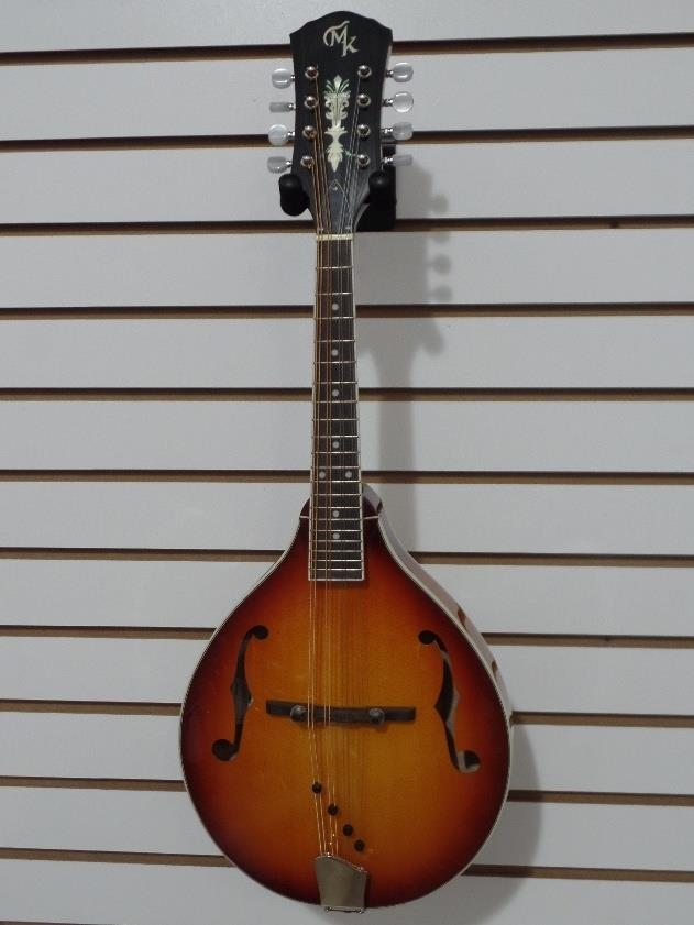 Michael Kelly A Solid R Radiused Solid Top A-Style Mandolin MKASOLIDRHS #1051