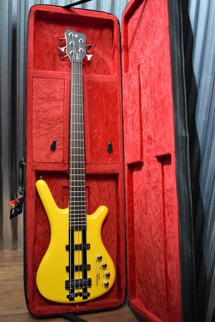 Warwick RockBass Corvette Basic 5 String Bass Race Yellow # 8614