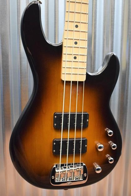 G&L USA M-2000 Electric Bass Guitar Tobacco Sunburst & Hard Case M2000 #1639