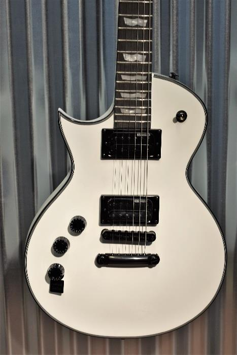 ESP LTD EC256 EC Series Snow White Left Hand Guitar & Gig Bag #883