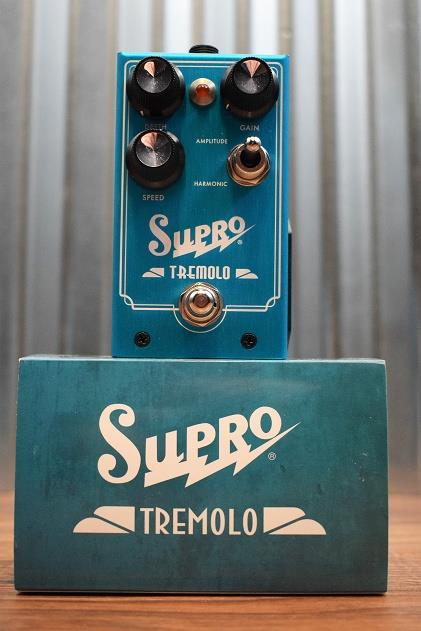 Supro USA 1310 Tremolo Tube Emulated Guitar Effect Pedal