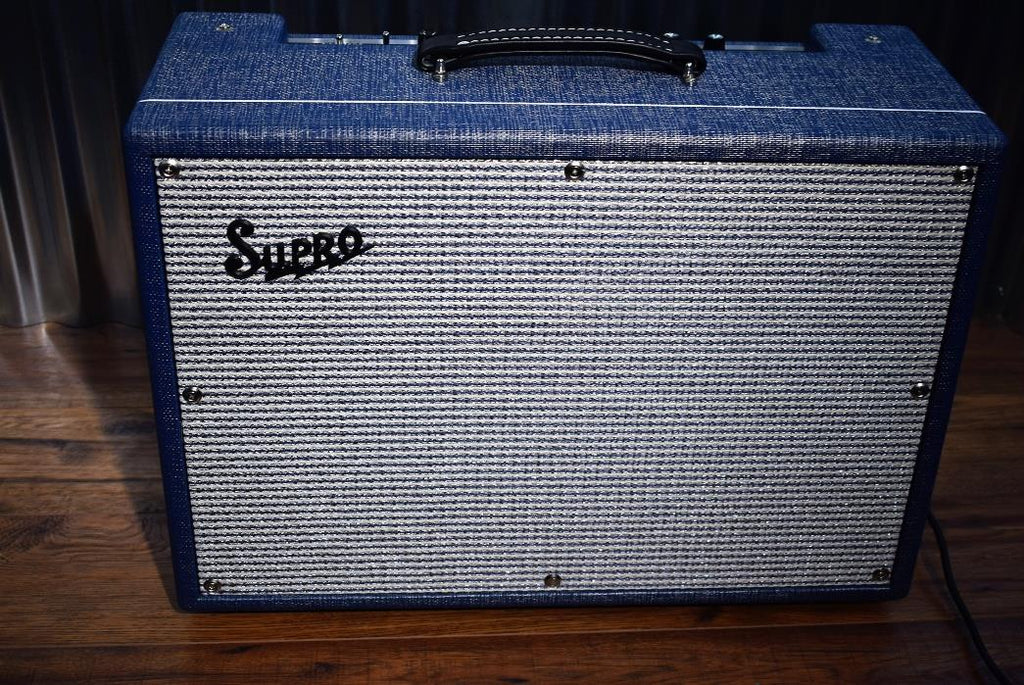 Supro USA 1650RT Royal Reverb 35/45/60 Watt All Tube 2x10 Combo Amplifier #341