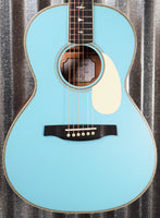 PRS Paul Reed Smith SE P20E LTD ED Acoustic Electric Parlor Powder Blue Guitar & Bag #3275