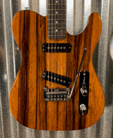 G&L Guitars USA Custom Shop ASAT Special Honeyburst Galaxy Black Back Guitar & Case 2019 #5017
