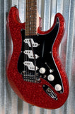 G&L USA Fullerton Custom Comanche Red Metal Flake Guitar & Case 2018 #4133