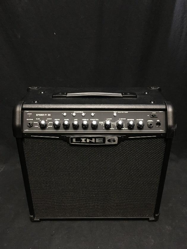 Line 6 Spider IV 30 1x12 30 Watt Combo Amplifier for Electric Guitar #2007 *