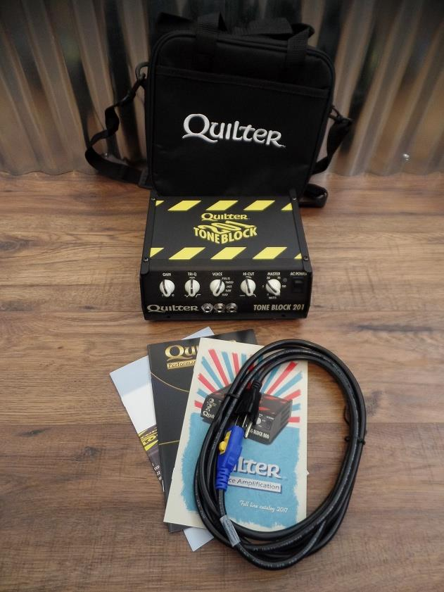 Quilter Labs Tone Block 201 200 Watt Guitar Amplifier Head TB201-Head