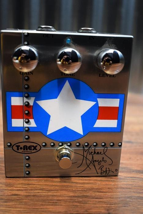 T-Rex MAB Michael Angelo Batio Signature Overdrive Guitar Effect Pedal #2051