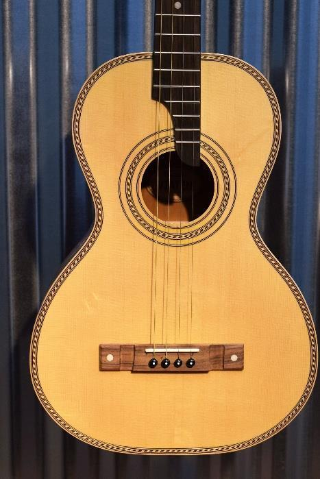 Vintage Viaten Paul Brett 4 String Tenor Acoustic Guitar & Bag VTE800N #3283